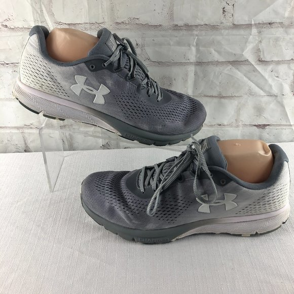 Under Armour Mens 11.5 Charged Patriot Sneakers